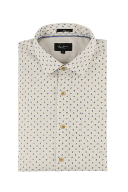 Chemise manches longues PEPE JEANS LONDON PM 303135 Blanc