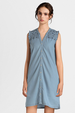 Robe PEPE JEANS LONDON PL952123 Bleu