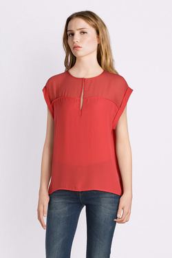 Blouse PEPE JEANS LONDON PL302296 Corail