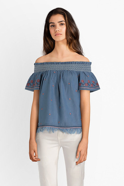 Blouse PEPE JEANS LONDON PL302342 Bleu