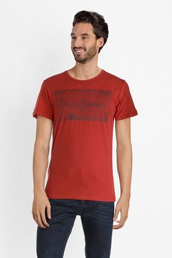 Tee-shirt PEPE JEANS LONDON PM505939 Rouge