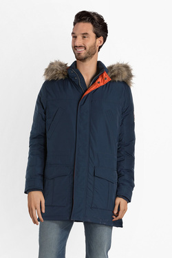 Parka PEPE JEANS LONDON PM401946 Bleu marine