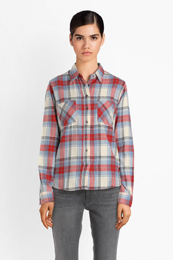 Chemise manches longues PEPE JEANS LONDON PL303153 Rouge