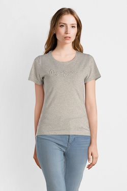 Tee-shirt PEPE JEANS LONDON PL503869 Gris
