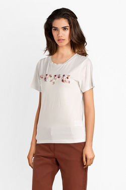 Tee-shirt PEPE JEANS LONDON PL503861 Blanc