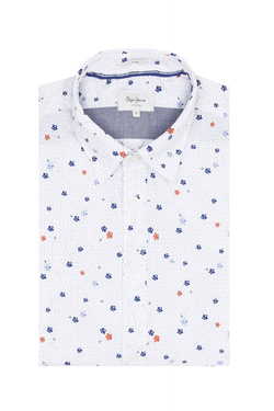 Chemise manches courtes PEPE JEANS LONDON PM305800 Blanc