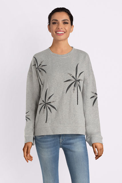Sweat-shirt brodé avec perles PEPE JEANS LONDON