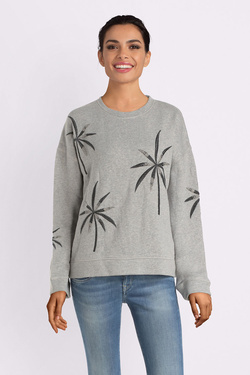 Sweat-shirt PEPE JEANS LONDON PL580821 Gris