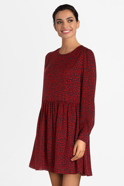 Robe PEPE JEANS LONDON PL952584 Rouge