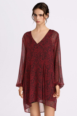 Robe PEPE JEANS LONDON PL952571 Rouge