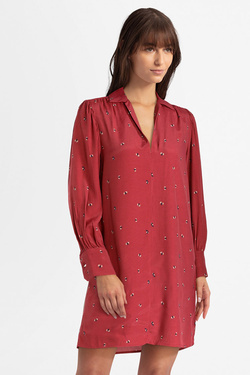 Robe PEPE JEANS LONDON PL952572 Rouge