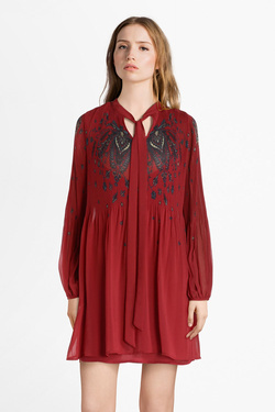 Robe PEPE JEANS LONDON PL952582 Rouge