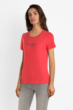 Tee-shirt PEPE JEANS LONDON PL504290 Rouge