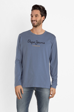 Tee-shirt manches longues PEPE JEANS LONDON PM501321 Bleu