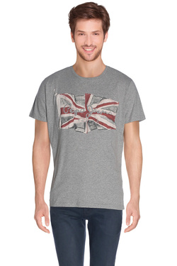 PEPE JEANS LONDON - Tee-shirtPM501193 FLAGGris