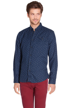 Chemise manches longues PEPE JEANS LONDON PM302597 ROCHESTER Bleu