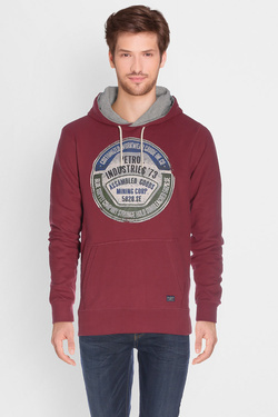 Sweat-shirt PETROL INDUSTRIES SWH 300 Rouge