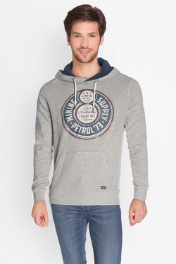 Sweat-shirt PETROL INDUSTRIES SWH 010 Gris clair