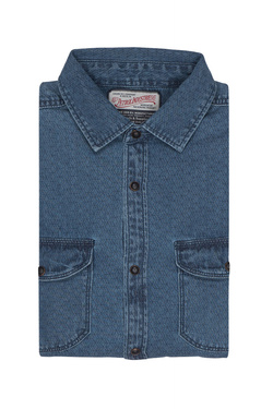 Chemise manches longues PETROL INDUSTRIES SIL 428 Bleu