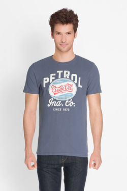 Tee-shirt PETROL INDUSTRIES TSR600 Bleu