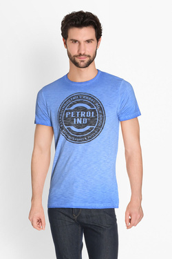 Tee-shirt PETROL INDUSTRIES TSR601 Bleu