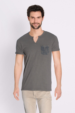 Tee-shirt PETROL INDUSTRIES TSV608 Gris