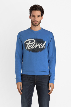 Sweat-shirt PETROL INDUSTRIES SWR 312 Bleu