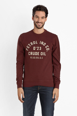 Sweat-shirt PETROL INDUSTRIES SWR 363 Rouge bordeaux