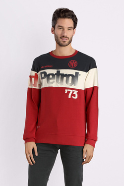 Sweat-shirt PETROL INDUSTRIES SWR 365 Rouge