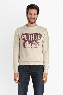 Sweat-shirt PETROL INDUSTRIES SWR 307 Blanc