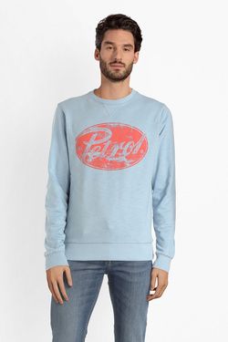 Sweat-shirt PETROL INDUSTRIES SWR 339 Bleu ciel
