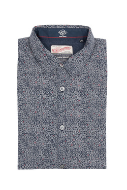 Chemise manches longues PETROL INDUSTRIES SIL 406 Bleu marine