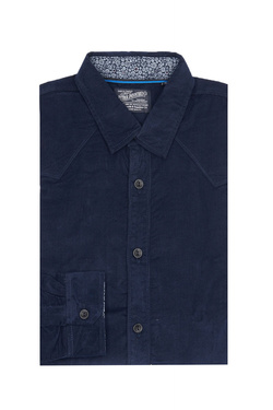 Chemise manches longues PETROL INDUSTRIES SIL 438 Bleu marine