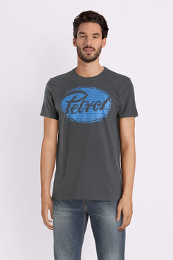 Tee-shirt PETROL INDUSTRIES TSR 601 Gris