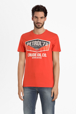 Tee-shirt PETROL INDUSTRIES TSR003 Orange