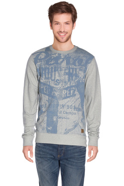 PETROL INDUSTRIES - Sweat-shirtSWR 397Gris clair