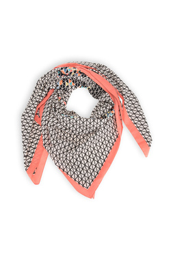 Foulard PIECES 17047990 Rose