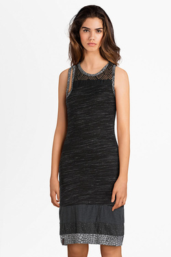 Robe PYGMEES TT2071 DRESS MALCOM X Noir