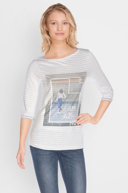 S OLIVER - Tee-shirt manches longues701.39.2466Gris