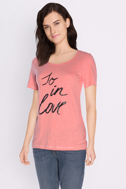 S OLIVER - Tee-shirt702.32.4599Corail