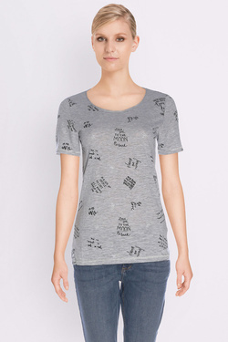 S OLIVER - Tee-shirt702.32.4599Gris