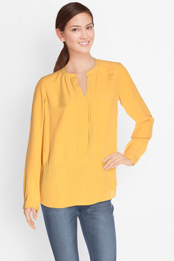 S OLIVER - Blouse703.11.4173Jaune moutarde