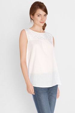S OLIVER - Blouse703.13.5634Blanc