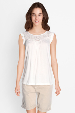 Tee-shirt S OLIVER 705.34.2576 Blanc
