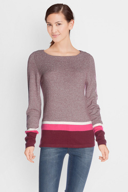 Pull S OLIVER 708.61.3966 Rouge bordeaux