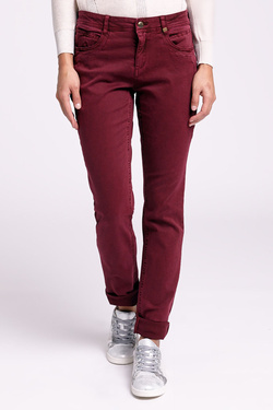 Pantalon S OLIVER 708.73.2219 Rouge bordeaux