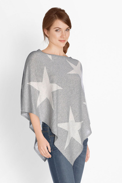 Poncho S OLIVER 708.50.5899 Gris