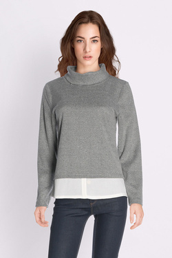 Sweat-shirt S OLIVER 710.41.5408 Gris
