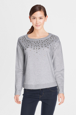 Sweat-shirt S OLIVER 711.41.5439 Gris