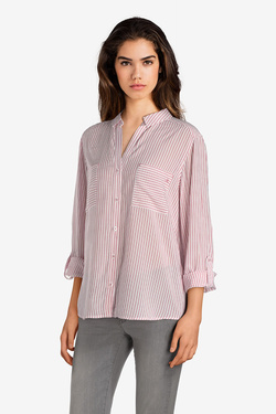 Chemise manches longues S OLIVER 14.899.11.4733 Ecru
